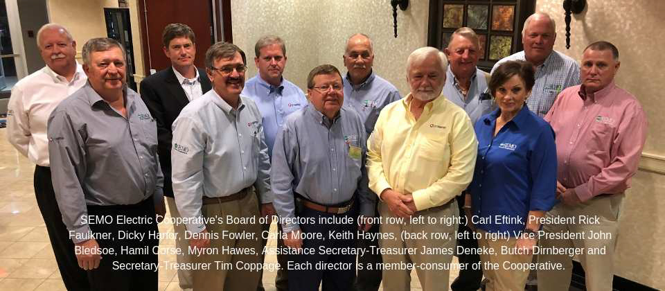 Board of Directors - May 2019